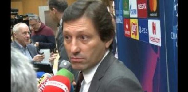 Leonardo : « Cavani a demandé à partir » du PSG