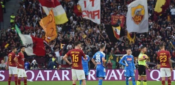 Serie A : Rome – Naples arrêté après des insultes visant Koulibaly