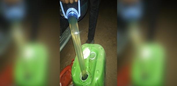 Rufisque-Alerte : La station Eydon sise à la sortie N° 9 de l'autoroute à péage vend de l'eau à la place de gasoil à des clients.