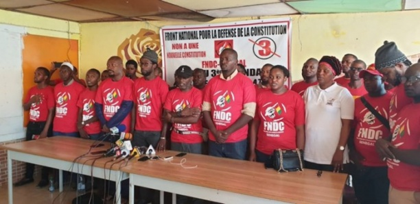 Marche de soutien au peuple guinéen à Dakar