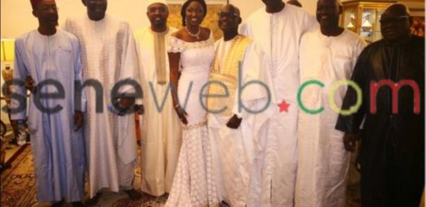 Les images du mariage d'Anta Babacar Ngom avec...