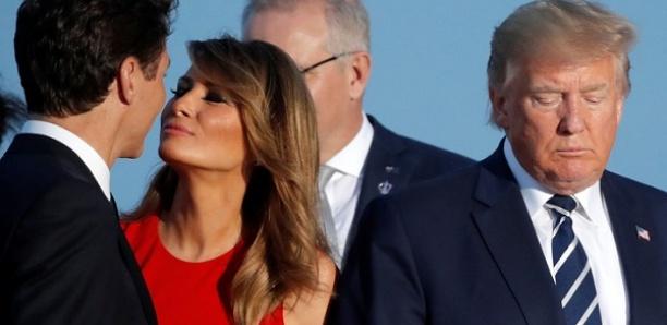 #MelaniaLovesTrudeau: cette image du G7 à Biarritz est devenue virale