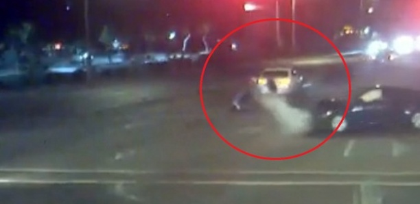 Un couple et un enfant échappent miraculeusement à une violente collision