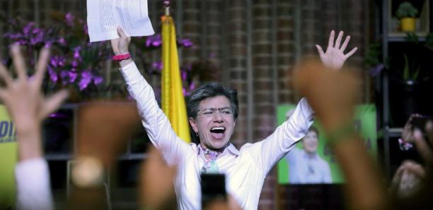 Claudia Lopez, écologiste et lesbienne, première femme élue maire de Bogota
