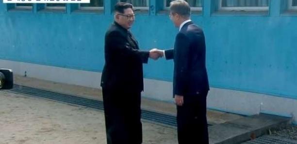 Rencontre au sommet entre les deux Corées. Af236d72de372e2c345fbaf1ed41558ed6d717a3