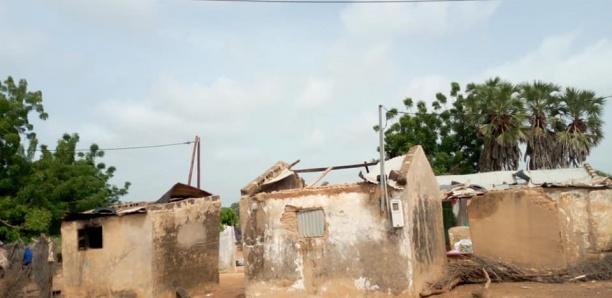 Koungheul: Plus de 35 maisons emportées par les pluies