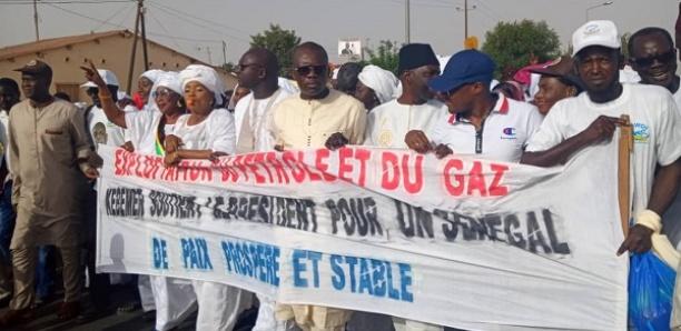 Kébémer : Marche de soutien des