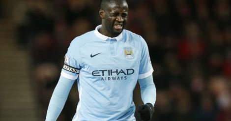 Yaya Touré, un blessé de plus pour City
