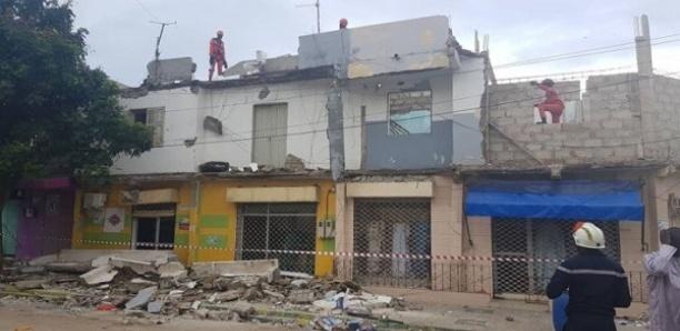 Effondrement d'un balcon à la Medina : Le préfet de Dakar pose la problématique des bâtiments qui menacent ruine