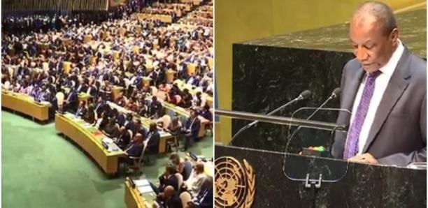 Une salle comble lors du discours d'Alpha Condé à l'ONU ? Pas vraiment...