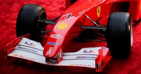 Une Formule 1 de Schumacher adjugée pour plus de 6 millions d'euros