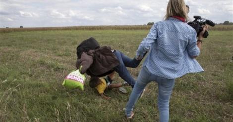 [ Video] La caméraman hongroise s'explique: