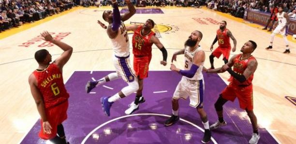 NBA : les Lakers frôlent l'accident face à Atlanta