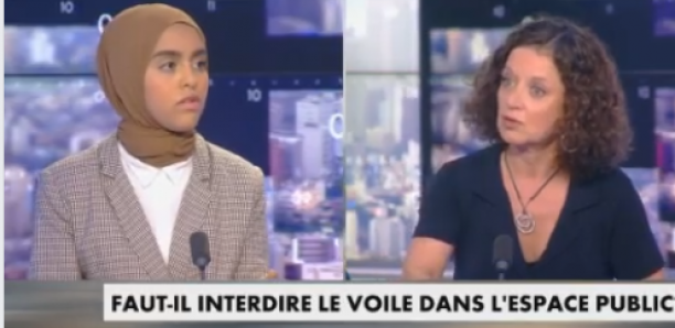 Une femme voilée corrige sévèrement les chroniqueurs de Cnews