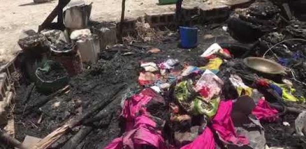 Incendie à Bargny : Deux morts et deux blessés graves