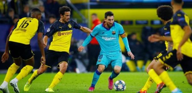 Ligue des champions : Dortmund accroché et pas récompensé face à un petit Barça