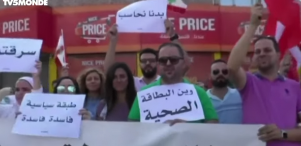Liban: manifestations monstres dans les rues du pays