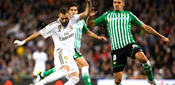 Liga : le Real Madrid tenu en échec par le Betis