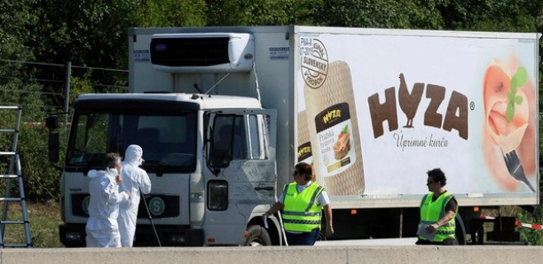 Des trafiquants condamnés à perpétuité pour la mort de 71 migrants dans un camion frigorifique
