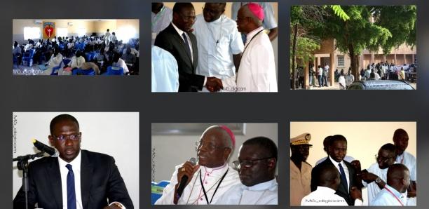 Moïse Sarr invité à l'AG de l'Union du Clergé Sénégalais