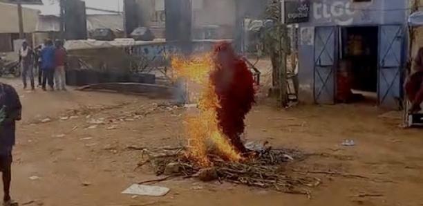 Sédhiou : La danse du Kankourang sur le feu