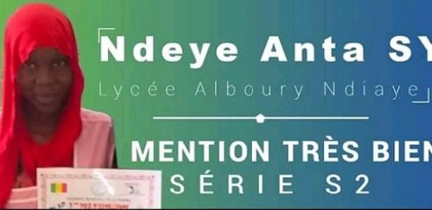 Linguère : L'élève Ndéye Anta Sy décroche son bac S2 avec mention Très bien