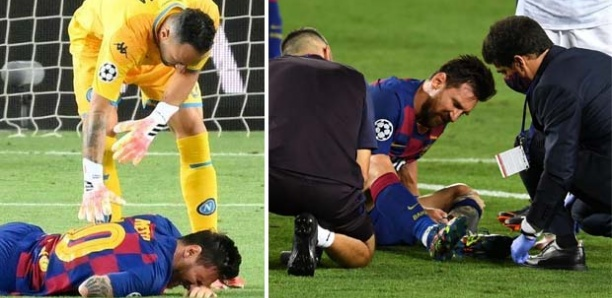 FC Barcelone : Lionel Messi touché à un pied