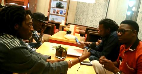 Afromedia: Après le concert de Baba Maal les rappeurs, Simon, Duggy Tee, Xuman, PPS, Bakhaw, deversent leur colère...