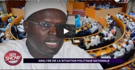Sen Show: Analyse de la situation Politique Nationale