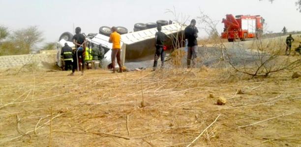 Route de Mbour : Un camion dérape et fait un mort