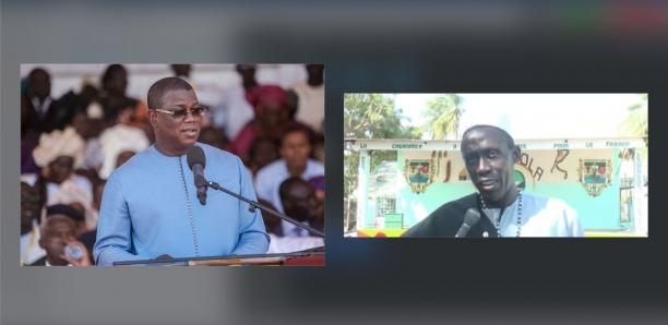 Abdoulaye Baldé sur Elinkine Diatta :