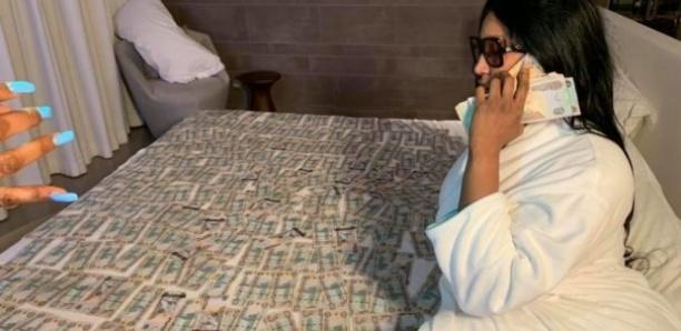 Diaba Sora à Dubai : 200 millions Franc CFA exposé sur le lit, 35 millions uniquement pour le séjour