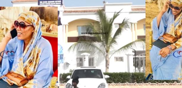 Ngabou: Découvrez la belle maison de Sokhna Aida