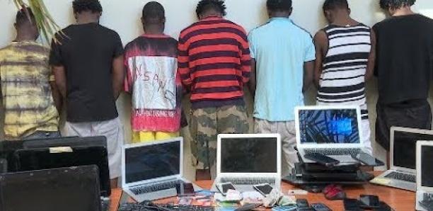 Cybercriminalité : 13 Nigérians arrêtés à Guédiawaye