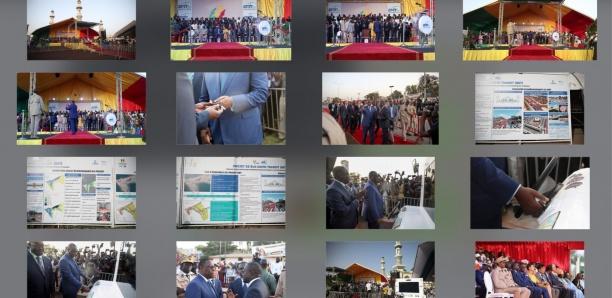 [Photos-Vidéo] Revivez la cérémonie du lancement des travaux du BRT