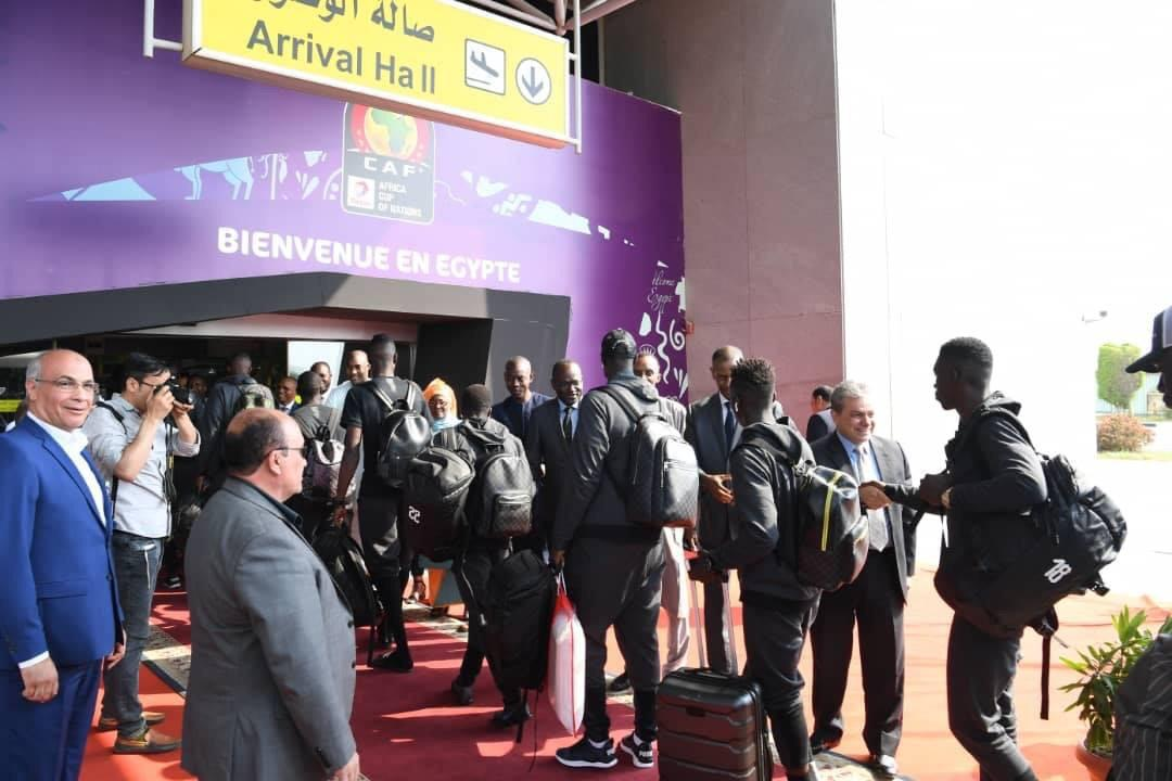 Arrivee Lions Egypte 06 - Senenews - Actualité au Sénégal, Politique, Économie, Sport