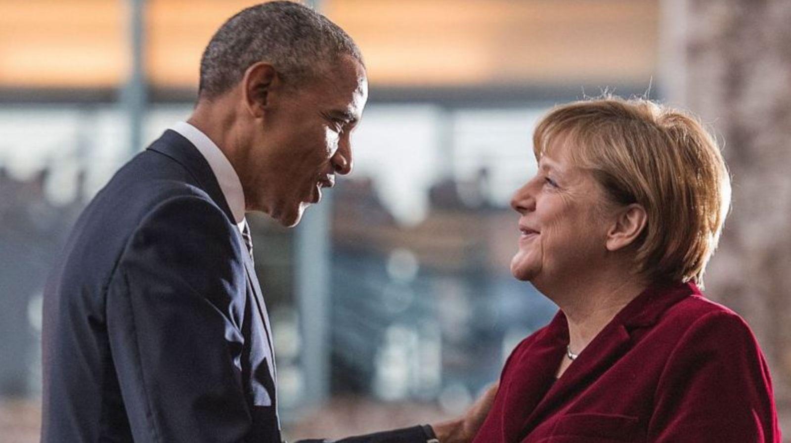 Barack Obama a décrit Angela Merkel